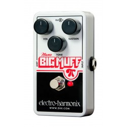 ELECTRO HARMONIX NANO BIG MUFF PI PEDAL DISTORSION