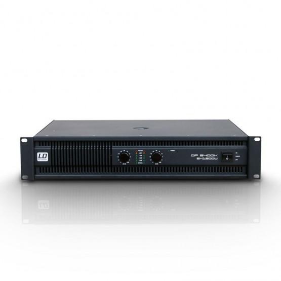 LD SYSTEMS LDDP2400X AMPLIFICADOR DE PA 2X1200W