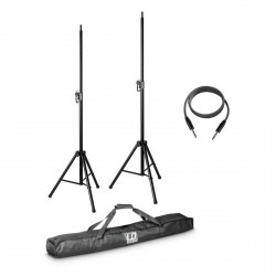 LD SYSTEMS MIX6G2SET2 SET CON 2 SOPORTES ALTAVOZ FUNDA Y CABLE