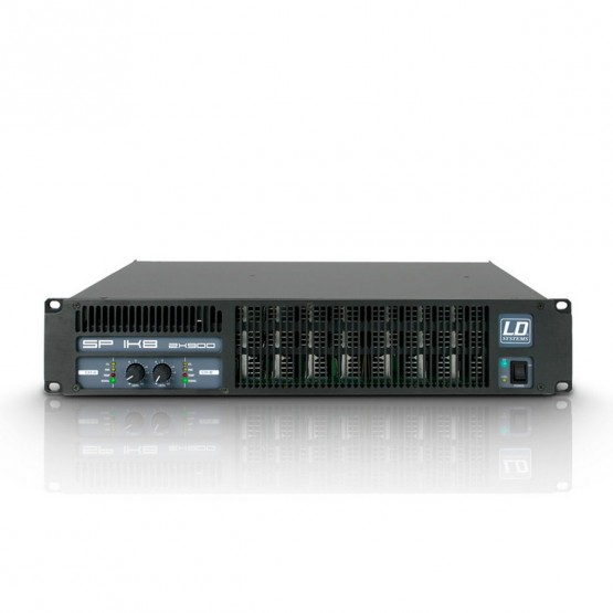 LD SYSTEMS LDSP1K8 AMPLIFICADOR DE PA 2X880W