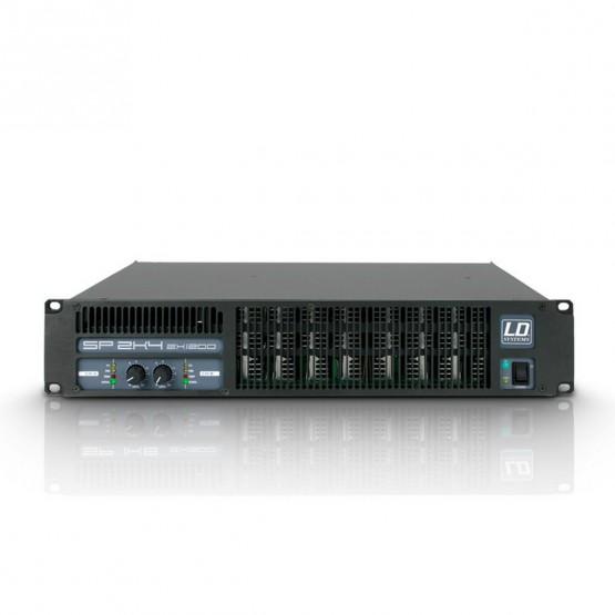 LD SYSTEMS LDSP2K4 AMPLIFICADOR DE PA 2X1190