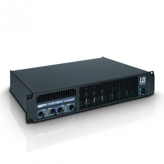 LD SYSTEMS LDSP44K AMPLIFICADOR DE PA 4X980W