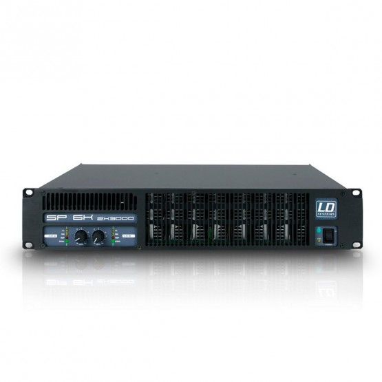 LD SYSTEMS LDSP6K AMPLIFICADOR DE PA 2X2950W