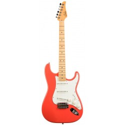 SUHR CLASSIC PRO SSS MAPLE GUITARRA ELECTRICA FIESTA RED. BOUTIQUE. DEMO