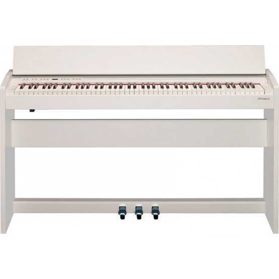 ROLAND F140R WH PIANO DIGITAL BLANCO