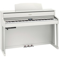 ROLAND HP605 WH PIANO DIGITAL BLANCO
