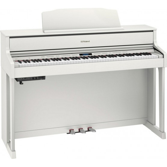 ROLAND HP605 WH PIANO DIGITAL BLANCO.