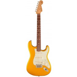 FENDER CLASSIC PLAYER 60 FSR STRATOCASTER RW GUITARRA ELECTRICA VEGAS GOLD. DEMO.