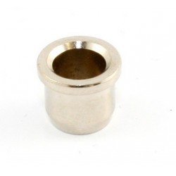 ALL PARTS AP0189001 STRING FERRULE FOR GUITAR, VINTAGE STYLE, WITH LIP, NICKEL, 5/16