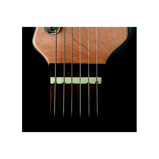 ALL PARTS BN2228025 EARVANA DROP-IN COMPENSATED NUT FOR FENDER GUITARS 1-11/16 CURVED BOTTOM