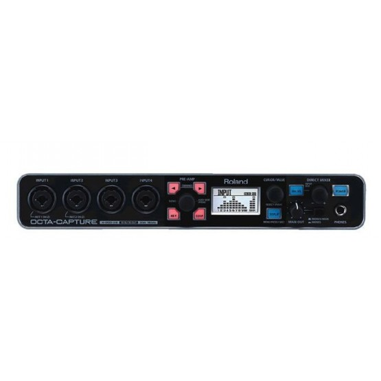 ROLAND UA1010 INTERFACE DE AUDIO USB OCTA CAPTURE