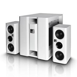 LD SYSTEMS DAVE 8 XS W SISTEMA MULTIMEDIA PORTATIL BLANCO