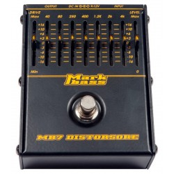 MARKBASS MB7 DISTORSORE PEDAL DISTORSION BAJO.