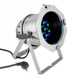 CAMEO CLP64RGB3WPS FOCO PAR LED RGB 36X3W CROMADO
