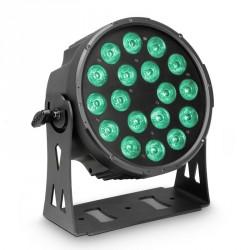 CAMEO CLPFLATPRO18 FOCO PAR LED RGBWA PLANO 18X10W