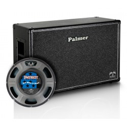 PALMER MICAB212RWBOB PANTALLA 2X12 EMINENCE RED WHITE AND BLUES ABIERTA