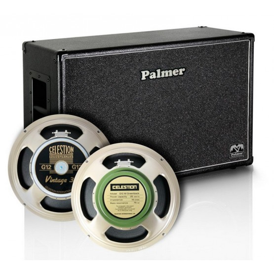 PALMER MICAB212V30GBK PANTALLA 2X12 CELESTION VINTAGE30 Y GREENBACK