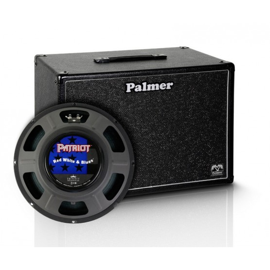 PALMER PCAB112RWB PANTALLA 1X12 EMINENCE RED WHITE AND BLUES 8 OHMIOS