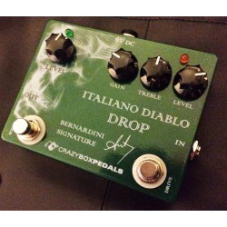 CRAZY BOX PEDALS ITALIANO DIABLO DROP PEDAL OVERDRIVE
