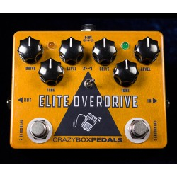 CRAZY BOX PEDALS ELITE OVERDRIVE PEDAL
