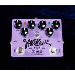 CRAZY BOX PEDALS VARGAS DUAL OD PEDAL OVERDRIVE