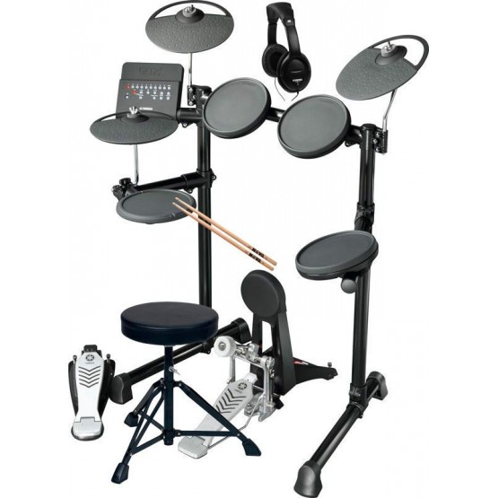 YAMAHA -PACK- DTX450K BATERIA ELECTRONICA + ASIENTO + AURICULARES Y BAQUETAS
