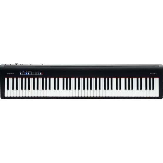 ROLAND FP30 BK PIANO DIGITAL PORTATIL NEGRO