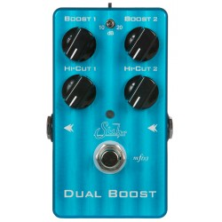 SUHR DUAL BOOST PEDAL BOOSTER