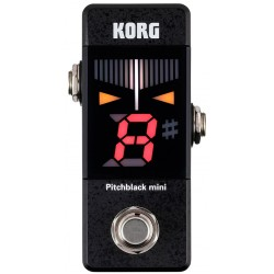 KORG MINI PITCHBLACK PEDAL AFINADOR