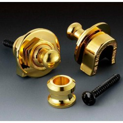SCHALLER AP0681002 STRAP LOCK SYSTEM (2) GOLD PULL TO RELEASE