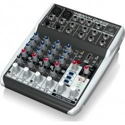 BEHRINGER XENYX QX602MP3 MESA DE MEZCLAS CON REPRODUCTOR MP3