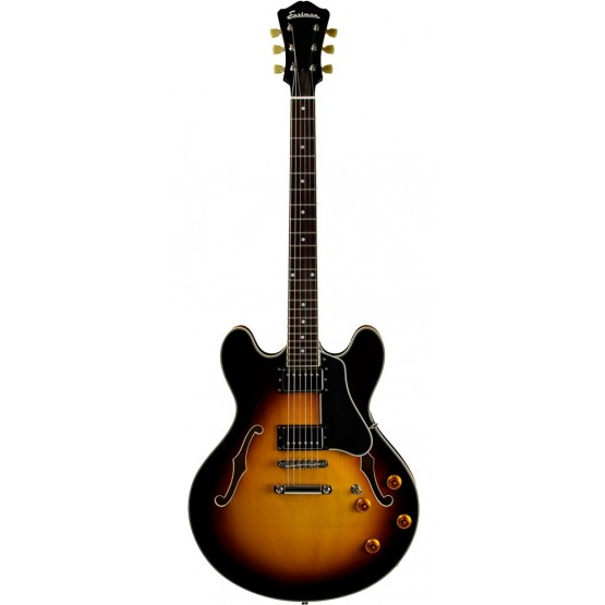 EASTMAN T386-SB GUITARRA ELECTRICA ARCHTOP THINLINE SUNBURST