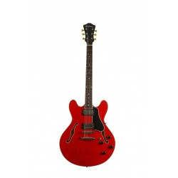 EASTMAN T386-RD GUITARRA ELECTRICA ARCHTOP THINLINE ROJA
