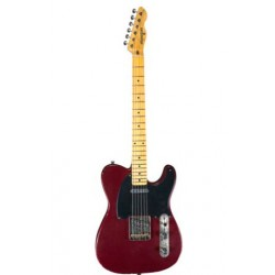 MAYBACH TELEMAN T54 GUITARRA ELECTRICA WINERED METALLIC AGED