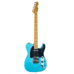 MAYBACH TELEMAN T54 GUITARRA ELECTRICA CADDY BLUE NEW LOOK
