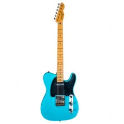 MAYBACH TELEMAN T61 GUITARRA ELECTRICA CADDY BLUE NEW LOOK