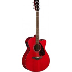 YAMAHA FSX800C RR GUITARRA ELECTROACUSTICA CONCIERTO RUBY RED
