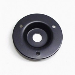 ALL PARTS AH9311003 BLACK RECESSED AMP JACK PLATE