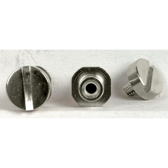 TONE PROS TP0456001 SNS1-N STUDS & ANCHORS (2) FOR STOP TAILPIECE FITS GIBSON NICKEL 5/16 - .