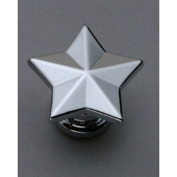 GROVER AP6678010 STAR STRAP BUTTON SYSTEM (2), CHROME