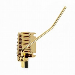GOTOH SB5330002 510T-FE1 TREMOLO, STEEL SADDLES, GOLD, 2-1/8 STRING SPACING, 2-3/16 POST SPACING