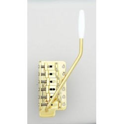 GOTOH SB0202002 GE101TS VINTAGE STYLE TREMOLO, STEEL BLOCK, GOLD, HARDWARE, 2-3/16 STRING SPACING