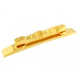 BIGSBY GB0527002 BRIDGE, WITH FLAT BASE, GOLD