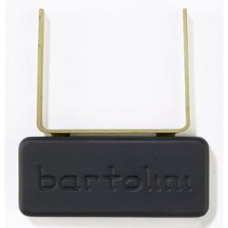 BARTOLINI PU1255000 5J PICKUP FOR JAZZ GUITAR, MOUNTS TO END OF NECK, BLACK