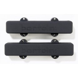 BARTOLINI PU1231023 PICKUP SET FOR 5-STRING AMERICAN STANDARD J BASS 57J1, BLACK