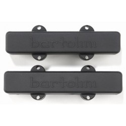 BARTOLINI PU1220023 PICKUP SET FOR J BASS 9J, BLACK