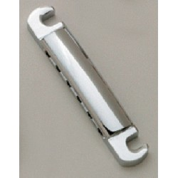 ALL PARTS TP3445010 ECONOMY STOP TAILPIECE, CHROME, WITH METRIC STUDS & ANCHORS, 3-1/4 STUD SPACING