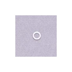 ALL PARTS TK7717025 PLASTIC WASHERS FOR BASS KEYS, BETWEEN BUTTON AND HOUSING (8 PIECES) WHITE