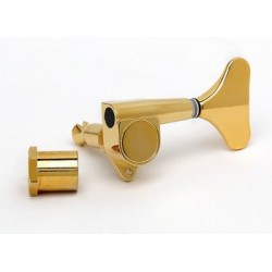 ALL PARTS TK0794002 ECONOMY BASS TUNING KEY, BASS SIDE, SEALED, COMPACT, GOLD, 20:1 EACH.