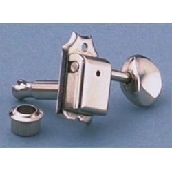 ALL PARTS TK0780001 ECONOMY TUNING KEYS VINT STYLE 6-IN-LINE NICKEL OUTLET